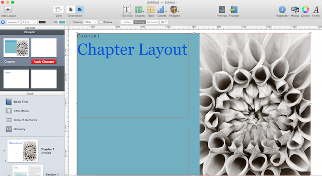 chapter layout finished